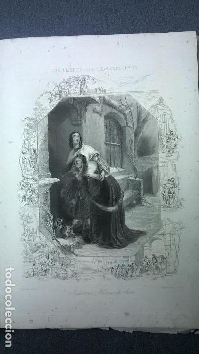 Libros antiguos: Libro.Costumbres del universo.Contiene 18 grabados al acero.Medida 28x38.Año 1864.423 pg - Foto 32 - 113724443