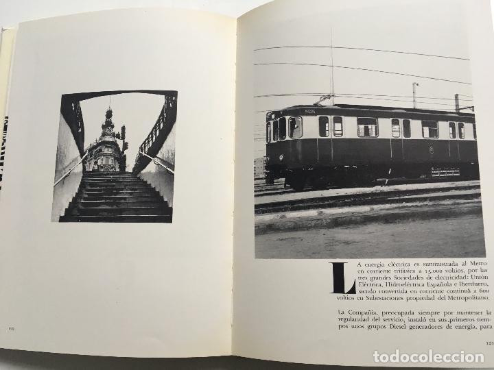 Libros antiguos: El metro de madrid - Foto 3 - 113785419