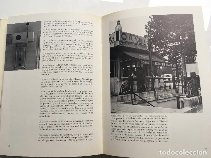 Libros antiguos: El metro de madrid - Foto 4 - 113785419