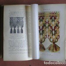 Libros antiguos: THÉRESE DE DILLMONT: ENCYCLOPÉDIE DES OUVRAGES DE DAMES (COSTURA, BORDADOS, CROCHET, MACRAMÉ, ETC.). Lote 113897223