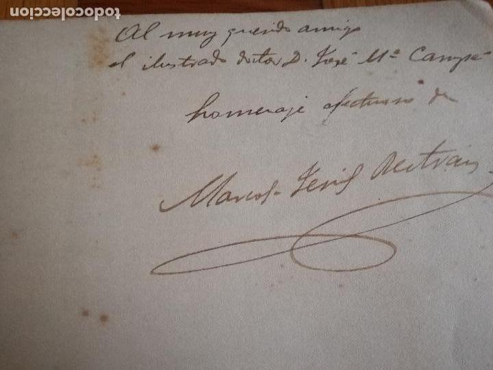 Libros antiguos: FERRÁN La Vida de un Sabio Útil año 1917 - edicatoria autógrafo firma del Autor - Libro antiguo - Foto 6 - 113956575