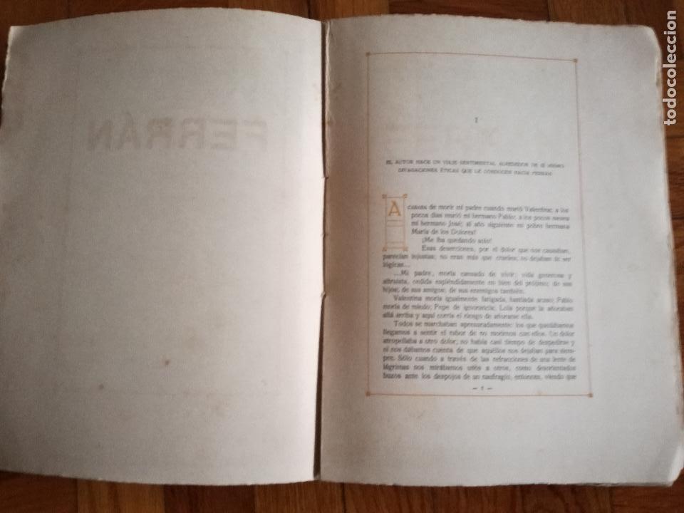 Libros antiguos: FERRÁN La Vida de un Sabio Útil año 1917 - edicatoria autógrafo firma del Autor - Libro antiguo - Foto 9 - 113956575