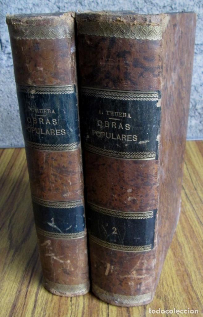 OBRAS POPULARES ANTONIO DE TRUEBA // EDIT. MIGUEL GUIJARRO – MADRID 1875 // CON GRABADOS (Libros antiguos (hasta 1936), raros y curiosos - Literatura - Narrativa - Otros)
