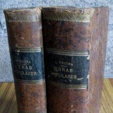 Libros antiguos: OBRAS POPULARES ANTONIO DE TRUEBA // EDIT. MIGUEL GUIJARRO – MADRID 1875 // CON GRABADOS . Lote 113966611