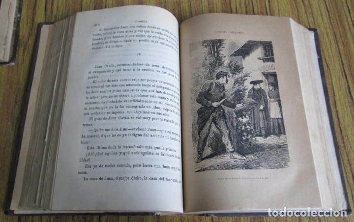 Libros antiguos: Obras populares ANTONIO DE TRUEBA // Edit. Miguel Guijarro – Madrid 1875 // Con grabados - Foto 6 - 113966611