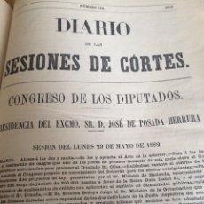 Alte Bücher - 1881-82 diario de sesiones de cortes - 114061747