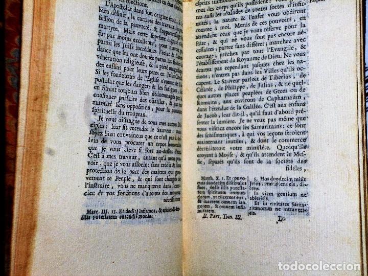 Libros antiguos: HISTOIRE DU PEUPLE DE DIEU, DEPUIS SON ORIGINE JUSQU´A LA NAISSANCE DU MESSIE(SECONDE PARTIE, 3 TOM) - Foto 10 - 77261493