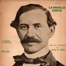Libros antiguos: ANTONIO DE TRUEBA : LA FELICIDAD DOMÉSTICA (LA NOVELA CORTA, 1918). Lote 114097539