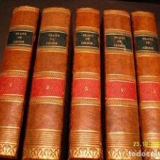 Libros antiguos: TRAITÉ DE CHIMIE ÉLÉMENTAIRE THÉORIQUE ET PRATIQUE SUIVI D'UN ESSAIE SUR LA PHILOSOPHIE CHIMIQUE.. Lote 7308459