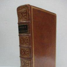 Libros antiguos: LONGI PASTORALIUM DE DAPHNIDE ET CHLOE, LIBRI QUATUOR...LONGUS. 1778. EDICIÓN LATÍN-GRIEGO.. Lote 114154824