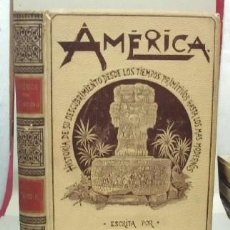 Libros antiguos: AMÉRICA HISTORIA DE SU DESCUBRIMIENTO. TOMO II.- CRONAU, RODOLFO. - A-MOYSI-131.. Lote 114383167