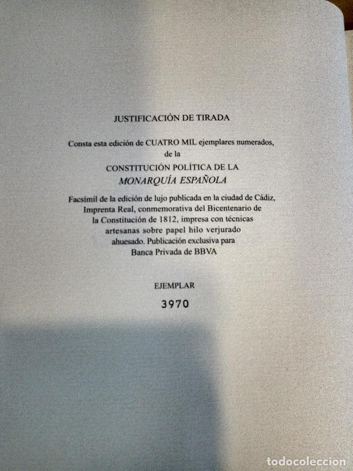 Libros antiguos: Constitución Política de la Monarquía Española - Foto 4 - 114385843