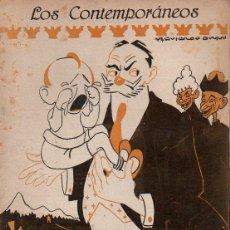 Libros antiguos: PÉREZ ZÚÑIGA : EL NACIMIENTO DEL CONDE (LOS CONTEMPORÁNEOS, 1919). Lote 114410059
