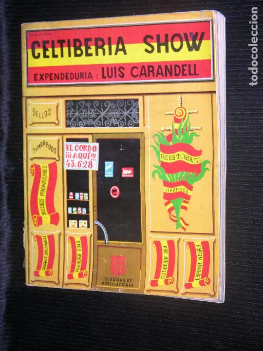 F1 CELTIBERIA SHOW EXPENDEDURIA LUIS CARANDELL AÑO 1970 (Libros Antiguos, Raros y Curiosos - Historia - Otros)