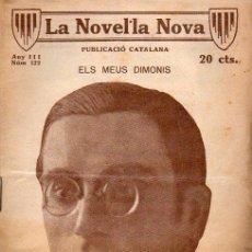 Libros antiguos: POAL AREGALL : ELS MEUS DIMONIS (LA NOVEL.LA NOVA, 1919) CATALÁN. Lote 114598759