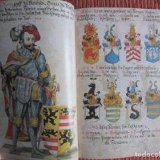 Livros antigos: GRAN LIBRO TORNEOS MEDIEVALES.MANUSCRITO ILUMINADO.36 GRANDES CABALLEROS EDAD MEDIA.FACSIMIL. Lote 114621419