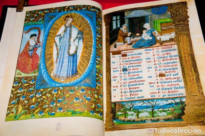 Libros antiguos: Libro de las Horas de Carlos V - Ed. Versol - Facsímil - Foto 5 - 114660691
