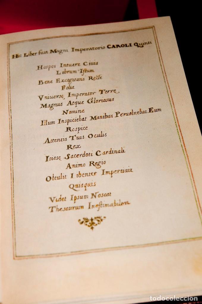 Libros antiguos: Libro de las Horas de Carlos V - Ed. Versol - Facsímil - Foto 6 - 114660691
