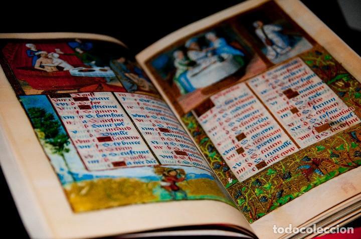 Libros antiguos: Libro de las Horas de Carlos V - Ed. Versol - Facsímil - Foto 7 - 114660691