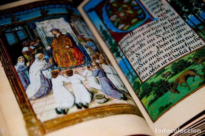 Libros antiguos: Libro de las Horas de Carlos V - Ed. Versol - Facsímil - Foto 8 - 114660691