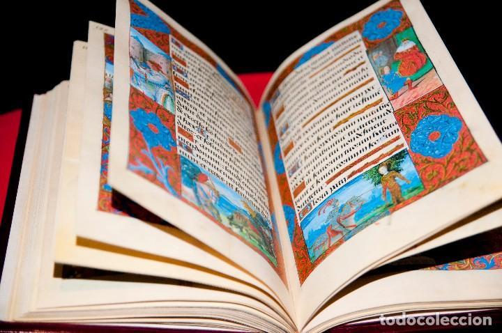 Libros antiguos: Libro de las Horas de Carlos V - Ed. Versol - Facsímil - Foto 14 - 114660691