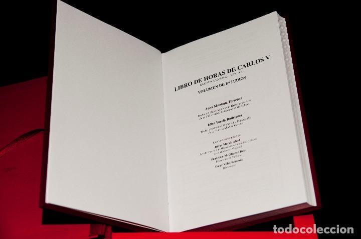 Libros antiguos: Libro de las Horas de Carlos V - Ed. Versol - Facsímil - Foto 18 - 114660691