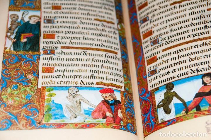 Libros antiguos: Libro de las Horas de Carlos V - Ed. Versol - Facsímil - Foto 21 - 114660691