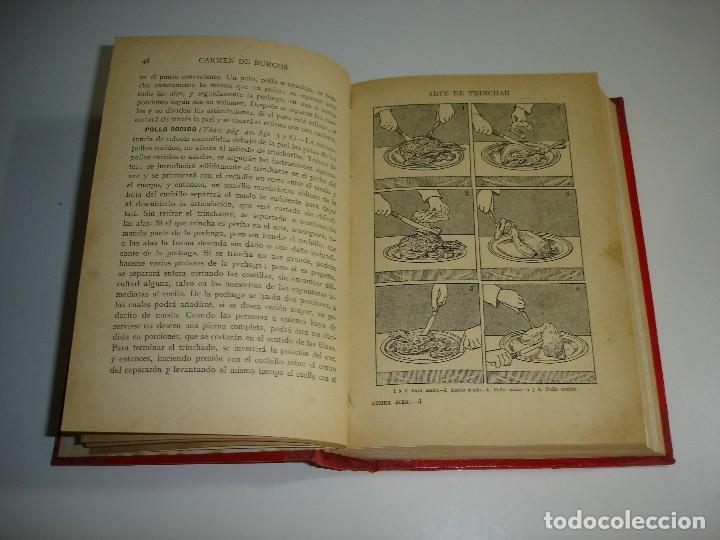 Libros antiguos: ¿QUIERE USTED COMER BIEN? CARMEN DE BURGOS (COLOMBINE) - RAMON SOPENA 1931 - Foto 4 - 114738715