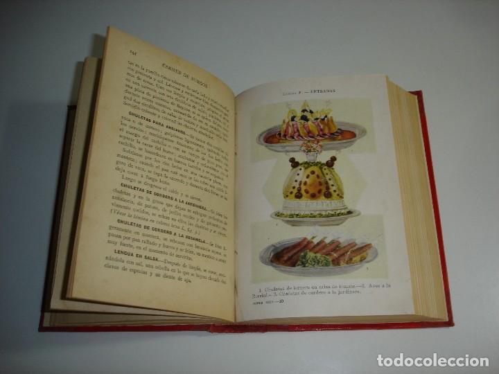 Libros antiguos: ¿QUIERE USTED COMER BIEN? CARMEN DE BURGOS (COLOMBINE) - RAMON SOPENA 1931 - Foto 6 - 114738715