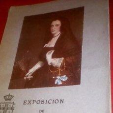 Libros antiguos: EXPOSICIÓN EL ABANICO EN ESPAÑA 1920 . JOAQUÍN EZQUERRA DEL BAYO . NO ILUSTRADO . CATALOGO GUIA. Lote 114748171
