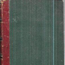 Libros antiguos: MANUEL L´INGENIEUR DES PONTS ET CHAUSSEES. MECANIQUE, MACHINES HYDRAULIQUES ET A VAPEUR. 1873. PARIS. Lote 114765059