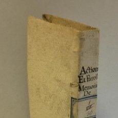 Libros antiguos: RECUEIL DES ACTIONS ET PAROLLES MEMORABLES DE PHILIPPE SECOND ROY D'ESPAGNE... 1671.. Lote 114799636