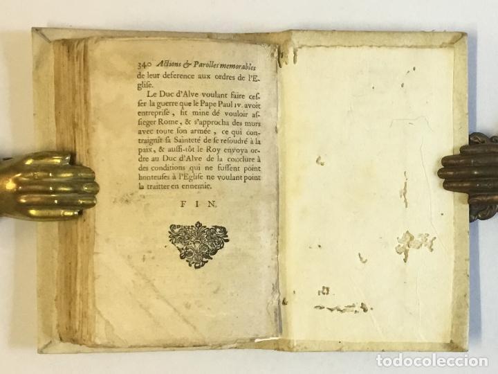 Libros antiguos: RECUEIL DES ACTIONS ET PAROLLES MEMORABLES DE PHILIPPE SECOND ROY D'ESPAGNE... 1671. - Foto 8 - 114799636