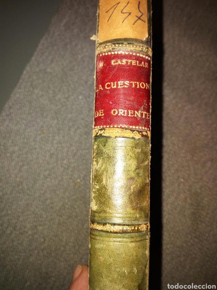 Libros antiguos: la cuestión de Oriente, Emilio Castelar, 1876, muy buen estado, en holandesa - Foto 2 - 82532340