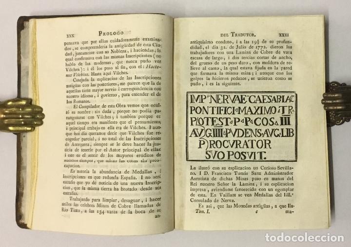 Libros antiguos: CIENCIA DE LAS MEDALLAS, con notas historicas i criticas... [JOBERT, Louis.] MONEDAS-MEDALLAS. - Foto 4 - 114799458