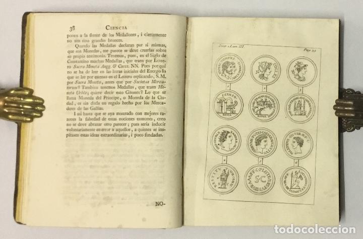 Libros antiguos: CIENCIA DE LAS MEDALLAS, con notas historicas i criticas... [JOBERT, Louis.] MONEDAS-MEDALLAS. - Foto 7 - 114799458