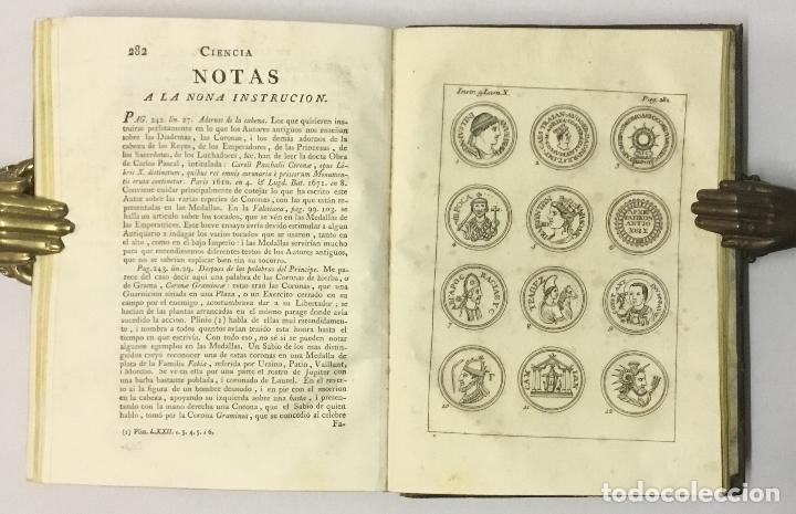 Libros antiguos: CIENCIA DE LAS MEDALLAS, con notas historicas i criticas... [JOBERT, Louis.] MONEDAS-MEDALLAS. - Foto 8 - 114799458