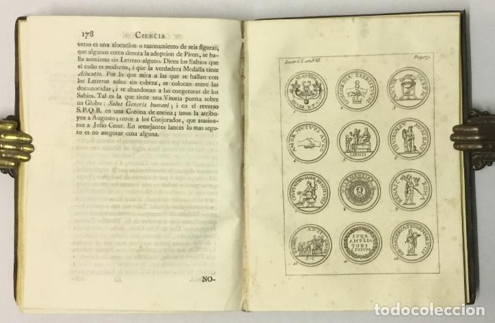 Libros antiguos: CIENCIA DE LAS MEDALLAS, con notas historicas i criticas... [JOBERT, Louis.] MONEDAS-MEDALLAS. - Foto 9 - 114799458