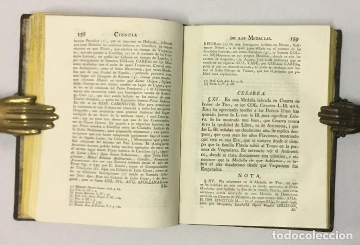 Libros antiguos: CIENCIA DE LAS MEDALLAS, con notas historicas i criticas... [JOBERT, Louis.] MONEDAS-MEDALLAS. - Foto 14 - 114799458