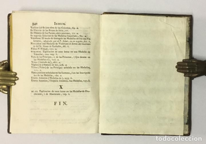 Libros antiguos: CIENCIA DE LAS MEDALLAS, con notas historicas i criticas... [JOBERT, Louis.] MONEDAS-MEDALLAS. - Foto 16 - 114799458