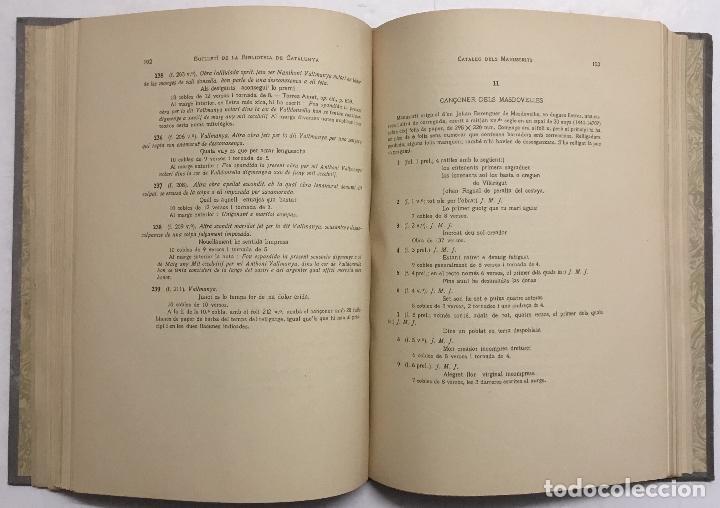 Libros antiguos: BUTLLETÍ DE LA BIBLIOTECA DE CATALUNYA. - [Revista.] 1914 - 1934. 8 tomos. - Foto 4 - 114799664