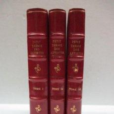 Alte Bücher - PETIT (LE) TRÉSOR DES ARTISTES ET DES AMATEURS DES ARTS,... 1789. 3 VOLS. ILUSTRADOS. - 114797683