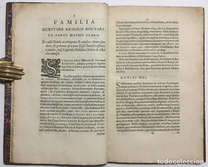 Libros antiguos: LA MAISON ET FAMILLE DE ROUTART, prouvée tres-noble passez plus de Six cens Ans, et alliée aux princ - Foto 5 - 114799688
