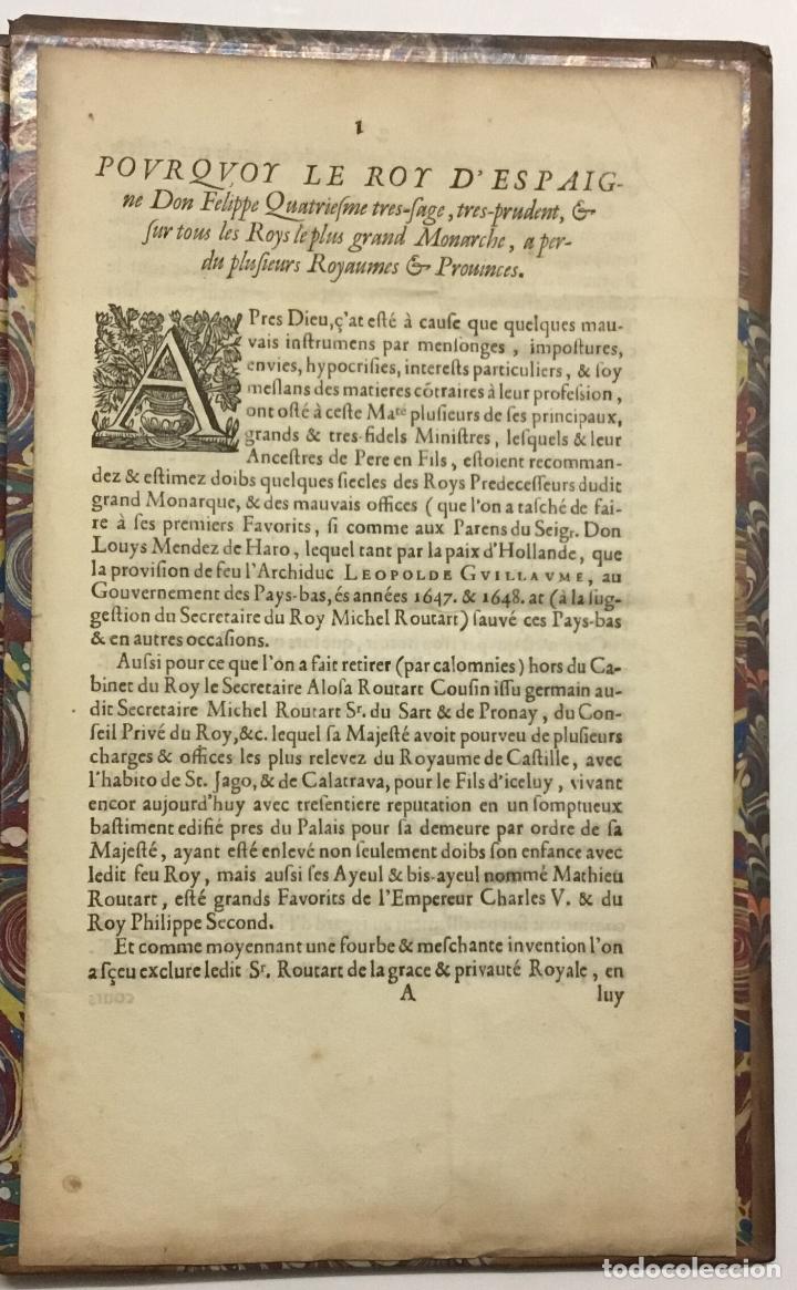 Libros antiguos: LA MAISON ET FAMILLE DE ROUTART, prouvée tres-noble passez plus de Six cens Ans, et alliée aux princ - Foto 8 - 114799688
