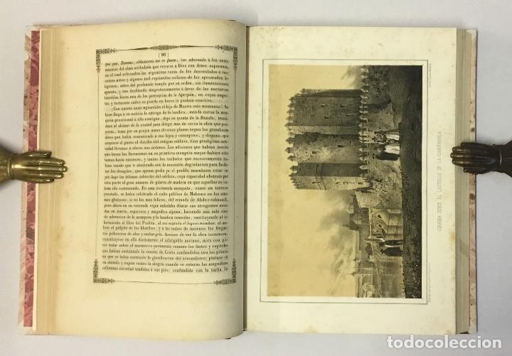 Libros antiguos: RECUERDOS Y BELLEZAS DE ESPAÑA. CORDOBA. MADRAZO, P. de. 1855. LITOGRAFÍAS DE PARCERISAS. - Foto 4 - 114799640