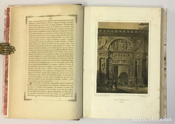 Libros antiguos: RECUERDOS Y BELLEZAS DE ESPAÑA. CORDOBA. MADRAZO, P. de. 1855. LITOGRAFÍAS DE PARCERISAS. - Foto 6 - 114799640