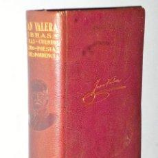 Libros antiguos: OBRAS DE JUAN VALERA.. Lote 114951199