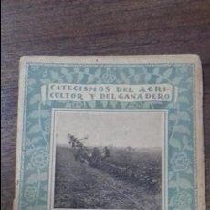 Libros antiguos: CATECISMOS DEL AGRICULTOR Y DEL GANADERO.LABORES PROFUNDAS. JOSE CRUZ LAPAZARAN. Nº8. SERIE IV. 1922. Lote 114966883