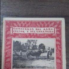 Libros antiguos: CATECISMO DEL AGRICULTOR Y DEL GANADERO. APARCERIA AGRICOLA Y PECUARIA. Nº4. CALPE. 1922. . Lote 114971991