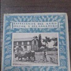 Libri antichi: CATECISMO DEL AGRICULTOR Y DEL GANADERO. COMO SE ELIGE UN ARADO. Nº 5. CALPE. 1921. . Lote 114973579